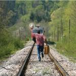 Se la circostanza lo esige, e non sai come dileguarti, ricordati che c'è sempre un treno che parte. E che stai per perdere!
