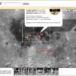 Ultima delle tre integrazioni a Google Earth, offre la possibilità di esplorare il suolo lunare. All'interno sono presenti immagini a 360°, esplorazioni in 3D e tante altre features interessanti.