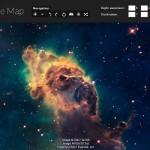 Con questa integrazione di Google Earth è possibile esplorare lo spazio, le stelle ed il sistema solare. Per rendere possibile questo servizio, Google si serve della collaborazione con la Nasa, utilizzando le immagini fornite dal telescopio Hubble.