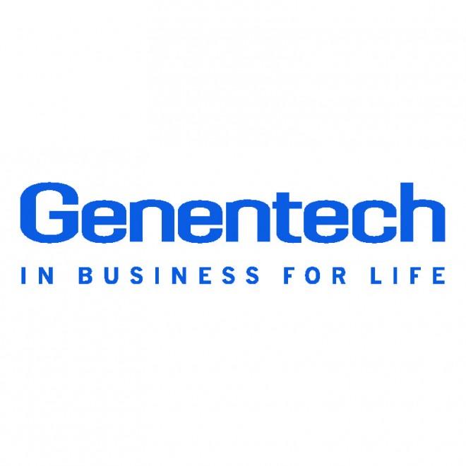 genentech 140 logo logo