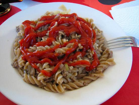 pasta-ketchup