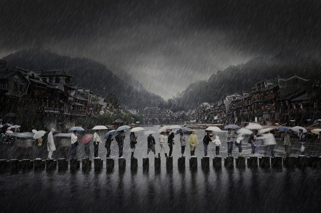 china-rain-in-ancient-town-by-li-chen