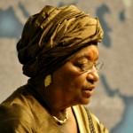 """Presidente della Liberia ha conseguito un M.A. in Public Administration nel 1971. Presidente della Liberia nel 2006, la prima donna nera al mondo ad essere presidente di uno Stato e anche la prima donna eletta come capo di stato in Africa. Nel 2011 ha vinto il Premio Nobel per la pace assieme a Tawakkul Karman e Leymah Gbowee, con la seguente motivazione: """"per la loro battaglia non violenta a favore della sicurezza delle donne e del loro diritto alla piena partecipazione nell'opera di costruzione della pace""""."""