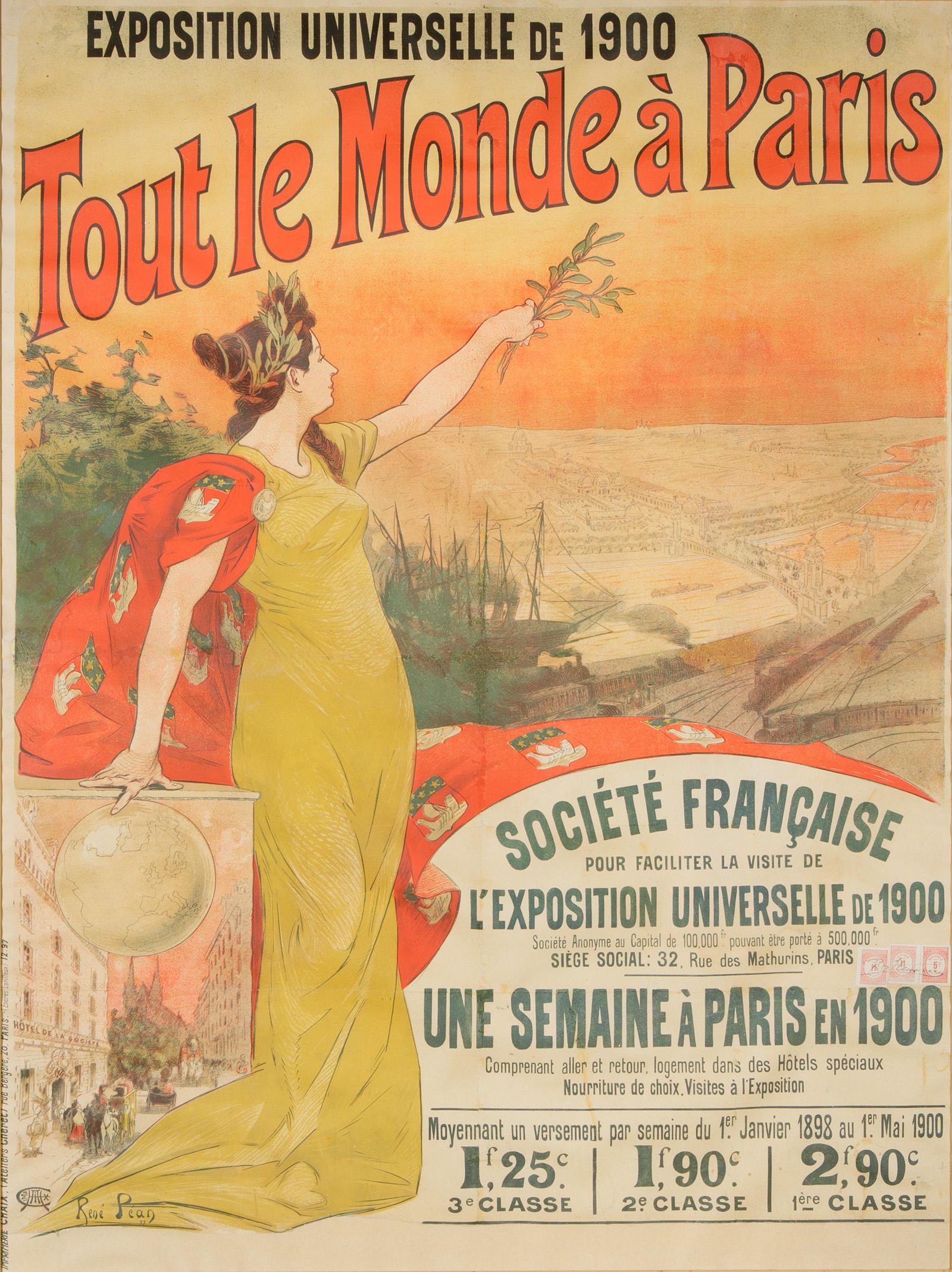 4 expo 1900 parigi visitatori 50 8 milioni smartweek - Tout le monde bochart tapis ...