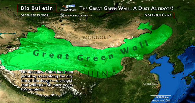 grande muraglia verde