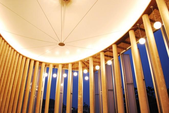 Shigeru Ban paper dome taiw