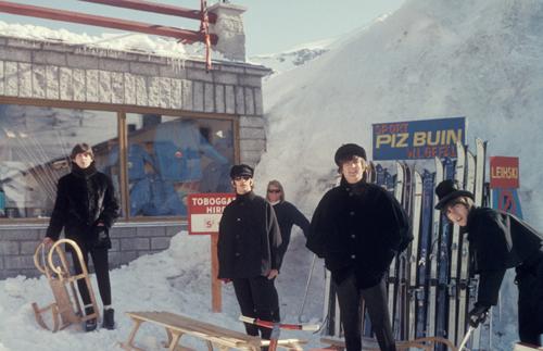 2 The Beatles Obertauern Austria 1965