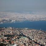 6. Istanbul (Turchia), Popolazione: 13 854 740, Anno di rilevamento: 2010