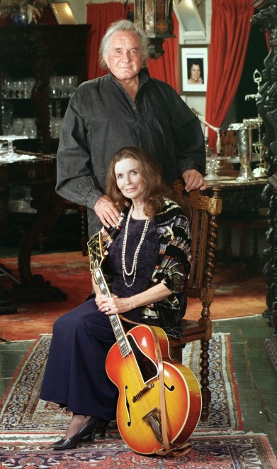 JOHNNY JUNE CARTER CASH