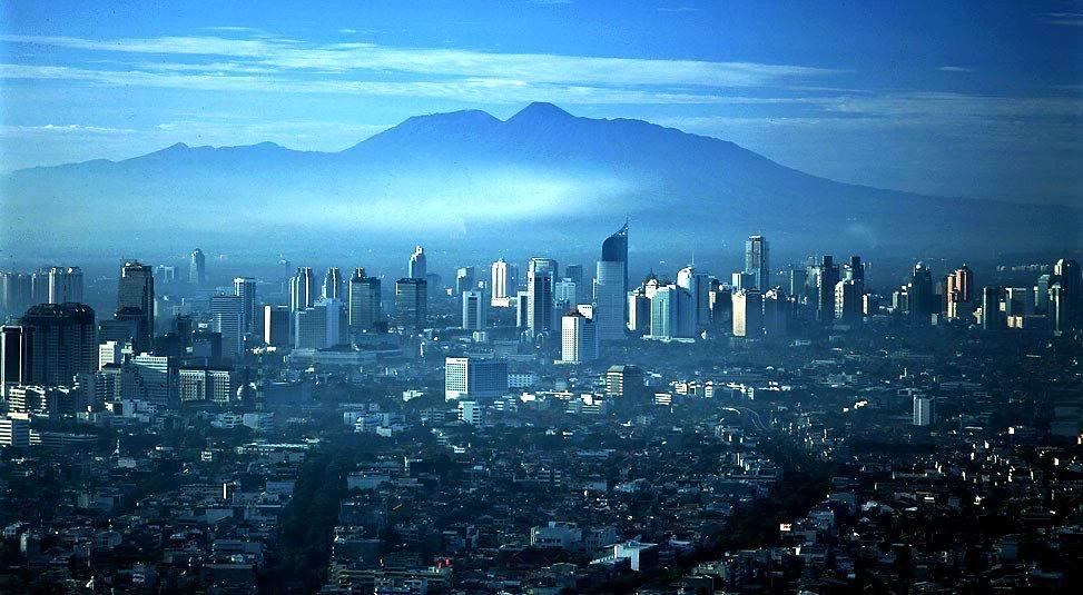 12. Giacarta (Indonesia), Popolazione: 9 588 198, Anno di rilevamento: 2010