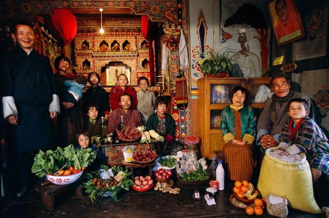 La famiglia Namgay di Shingkhey Village_Bhutan