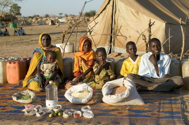 La famiglia Aboubakar di Breidjing Camp_Ciad