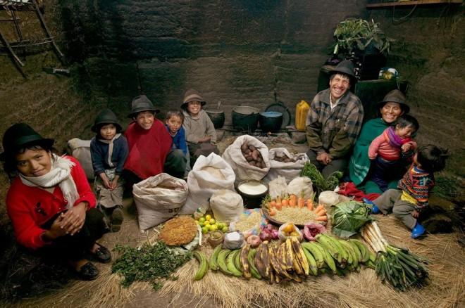 La famiglia Ayme di Tingo_Ecuador