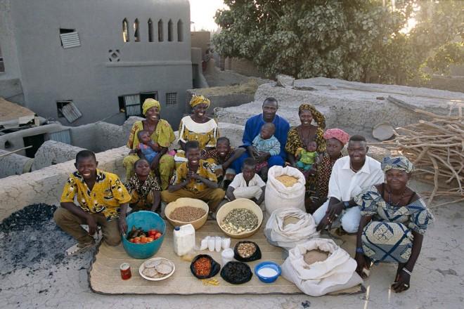 La famiglia Natomos di Kouakourou_Mali