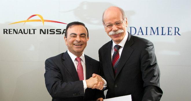 Renault-Nissan-Daimler-Partnership