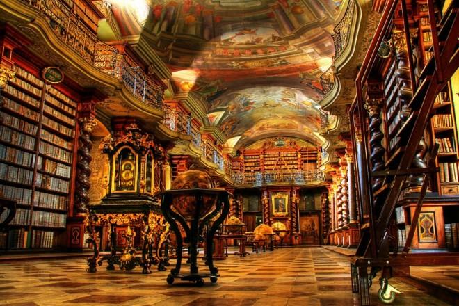 Biblioteche più Famose biblioteca praga