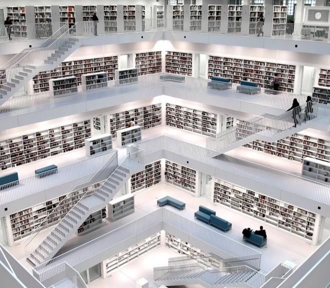 Biblioteche più Famose stuttgart library
