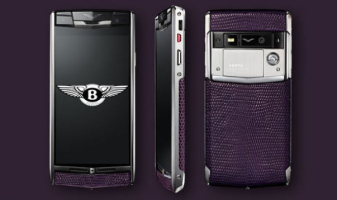 telefono smartphone bentley
