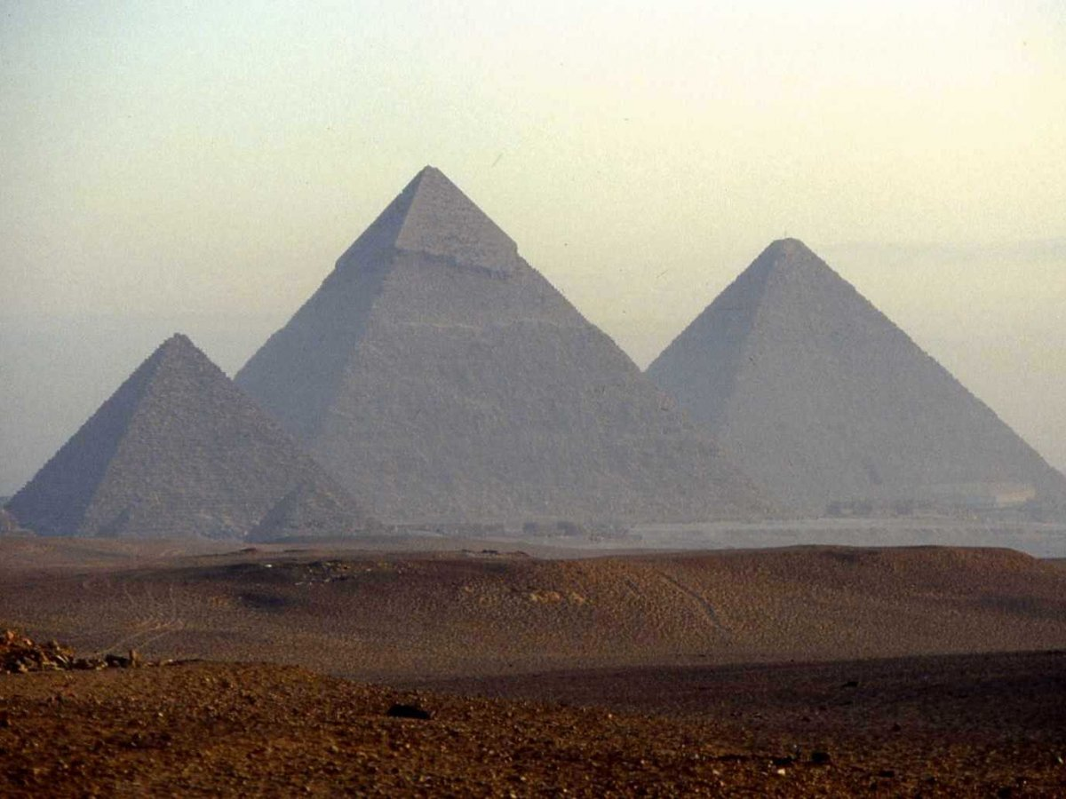 21 edifici da vedere piramide di giza