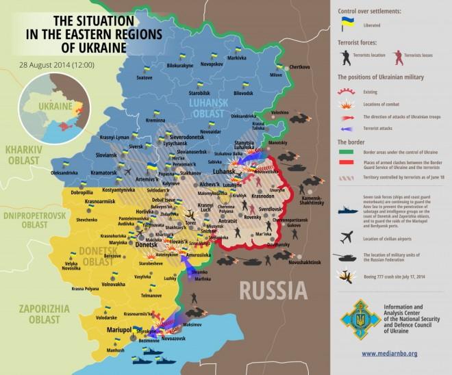 Cartina Ucraina