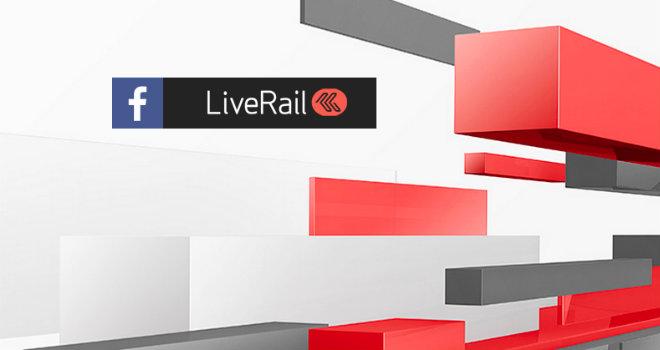 Facebook Live Rail