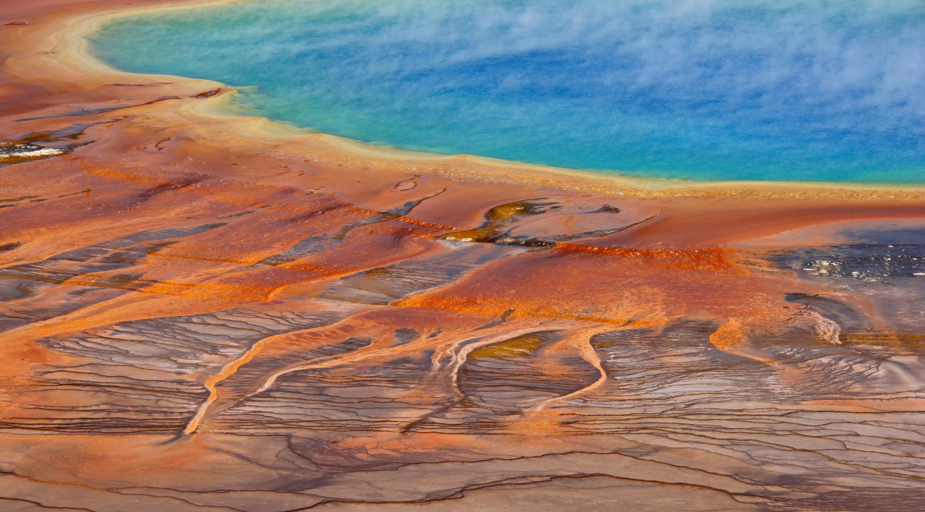 Grand Prismatic Spring Yellowstone Fenomeni Incredibili