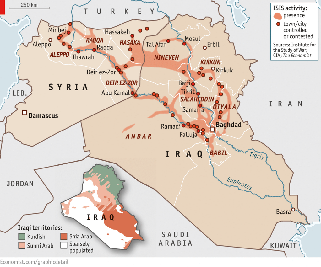Mappa Isis