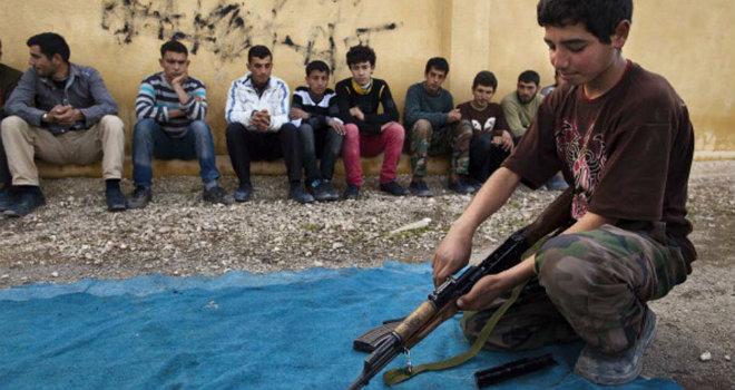 bambini soldato siria