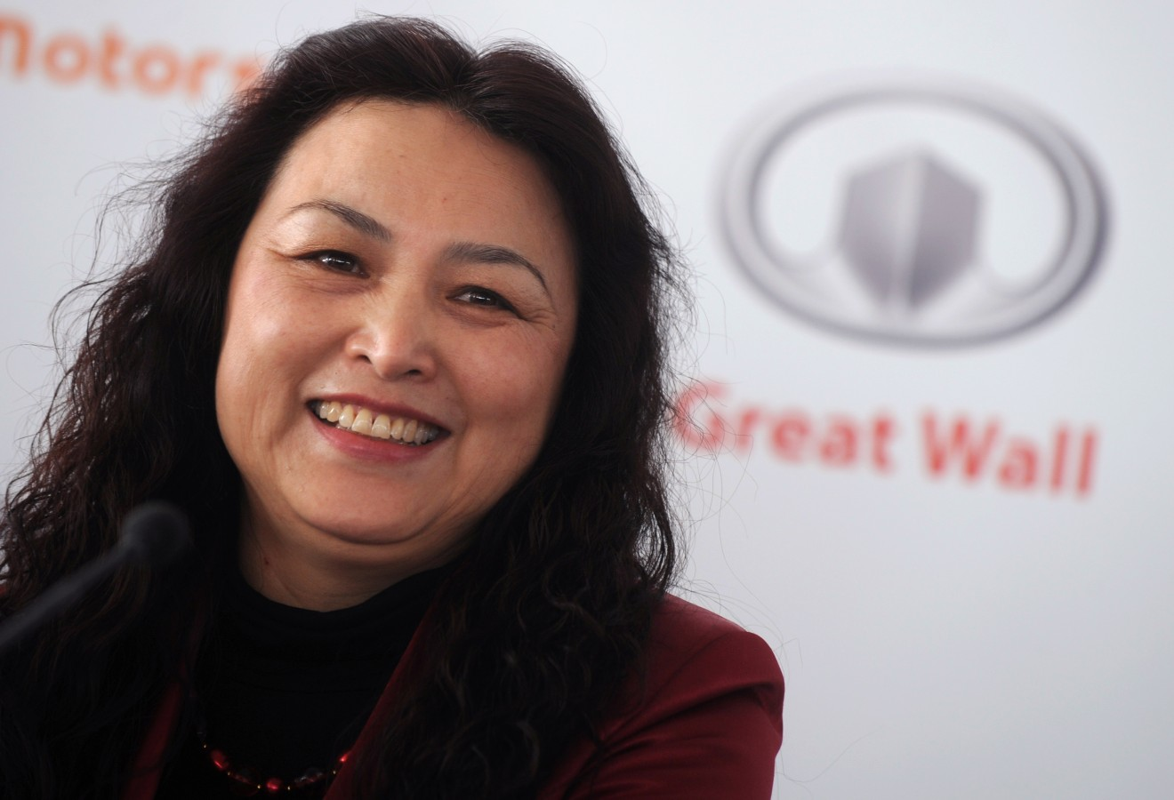 Great Wall Motor chief executive Wang Fe
