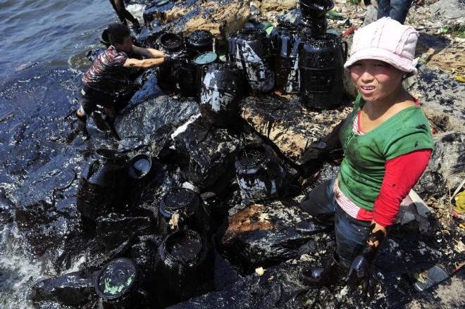 inquinamneto cina 2010