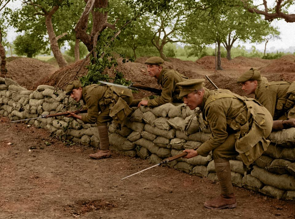 la prima guerra mondiale a colori 1