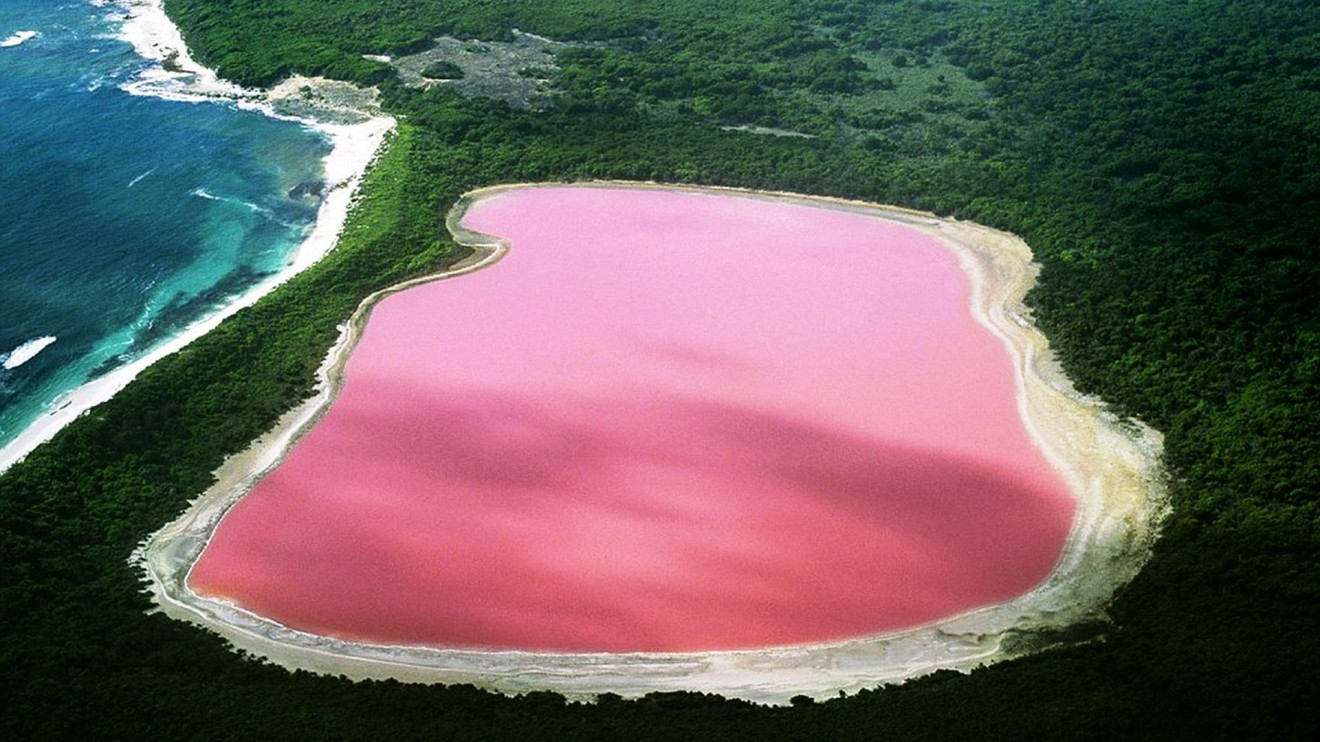 lago hillier fenomeni incredibili
