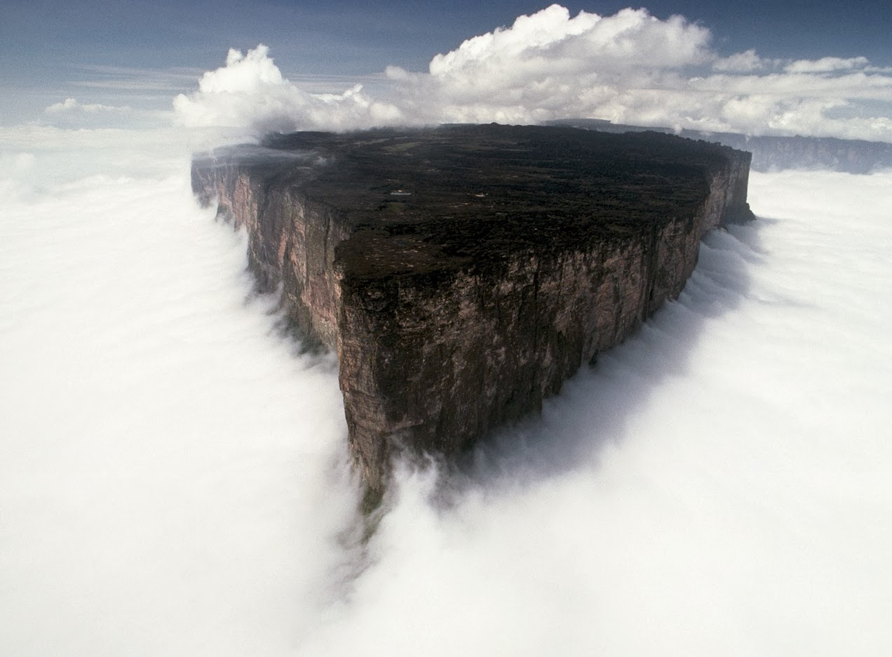 monte roraima fenomeni naturali incredibili