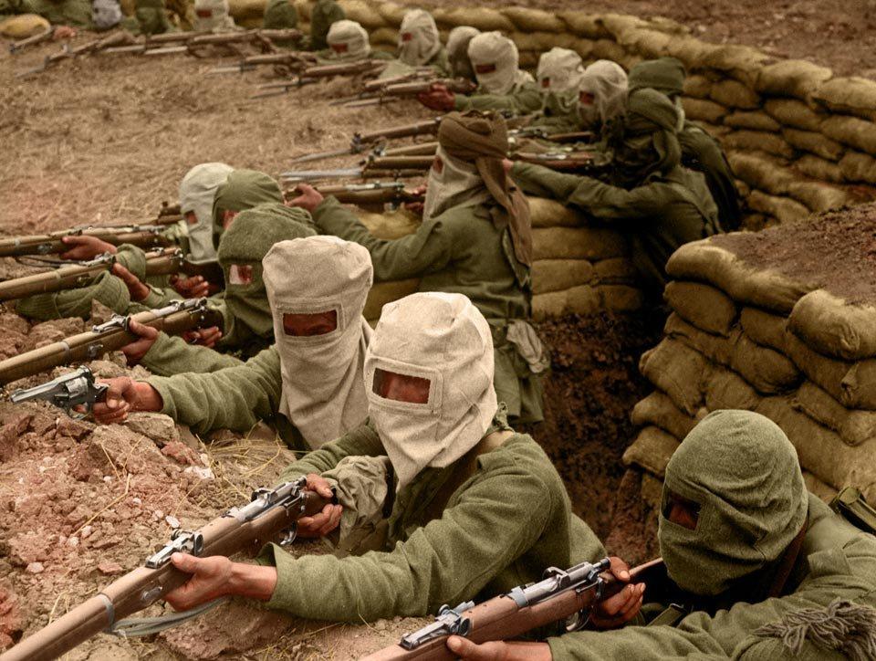 prima guerra mondiale a colori 5