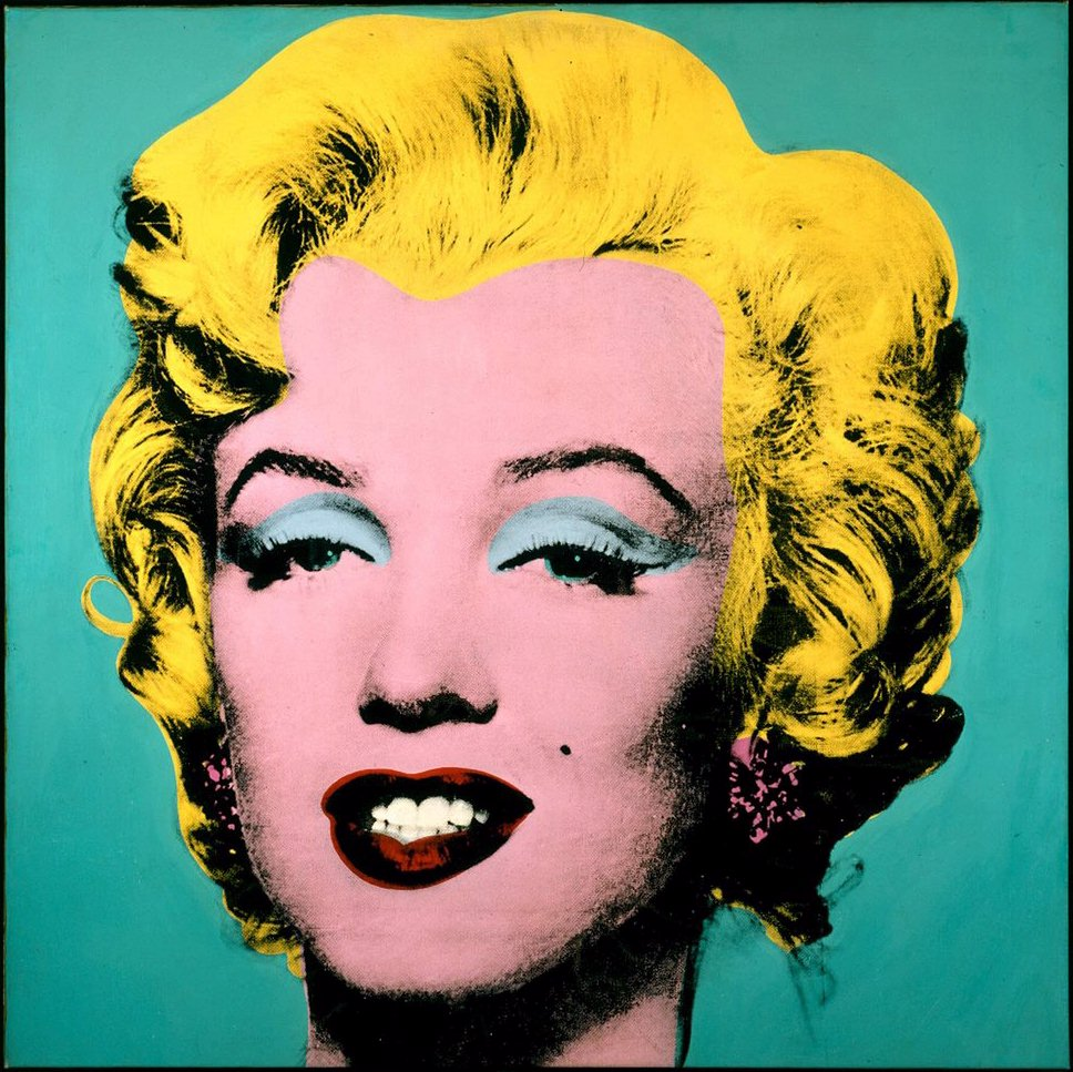 ritratti di donne Andy Warhol Marilyn