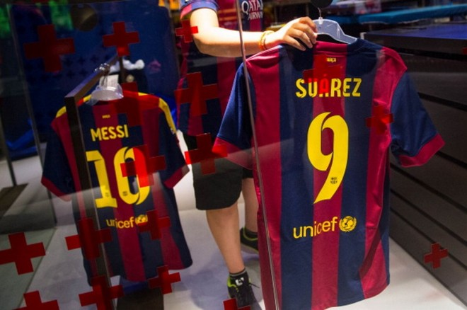Luis Suarez Barcelona Shirts on Sale