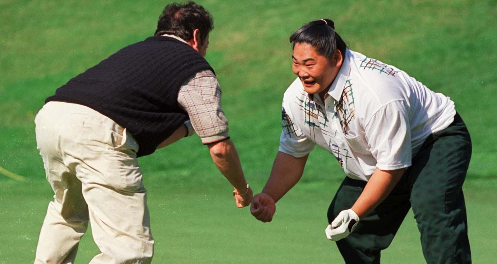 Golfisti Cinesi Sumo Golf