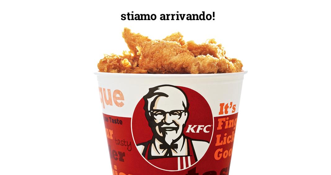 Arriva il Primo KFC in Italia