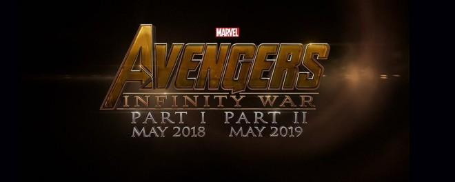 Avengers: Infinity War, Part II - 3 maggio 2019