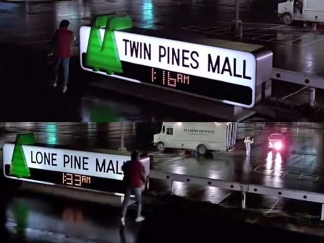 sometimes-easter-eggs-can-give-a-brief-nod-to-a-films-storyline-when-marty-mcfly-travels-back-in-time-in-1985s-back-to-the-future-he-runs-over-a-pine-tree-when-he-returns-to-the-future-theres-a-name-change-to-the-mall-named-after-the-pines