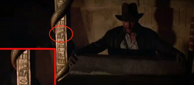 they-can-also-be-used-by-directors-to-acknowledge-one-another-this-was-the-case-when-steven-spielbergs-1981-raiders-of-the-lost-ark-included-a-hieroglyphic-of-r2-d2-and-c-3po-from-george-lucas-1977-star-wars