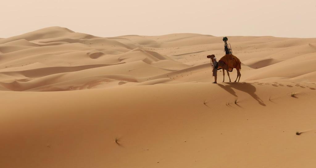 trekker-camel-desert