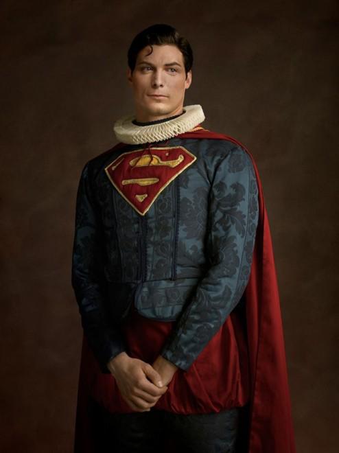 superman superhero rinascimento