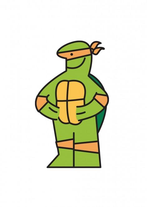 tartaruga ninja ikea man