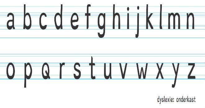 Dyslexia font boer