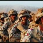 """Nella posizione immediatamente successiva, troviamo gli Emirati Arabi Uniti. Questo agglomerato di stati non conta, al momento, di un ingente apparato operativo, e potendo contare """"soltanto"""" su 65.000 soldati, 545 carri armati e 444 aerei, si pone lontano rispetto all'Iran e agli altri stati mediorientali. Ciononostante gli investimenti destinati dagli Emirati Arabi alla Difesa  sono molto elevati, essendo pari a 14,5 miliardi di dollari."""