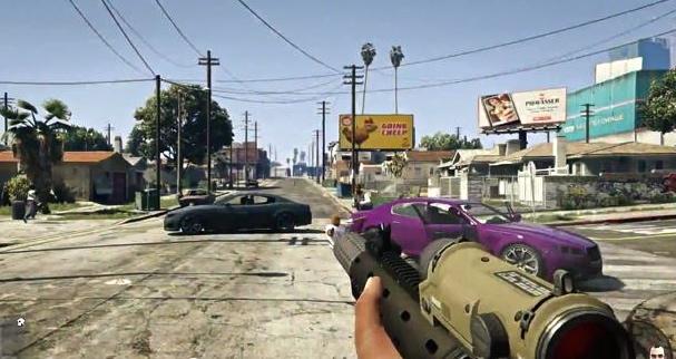 Grand Theft Auto 5 Arriva con la Modalità in Prima Persona