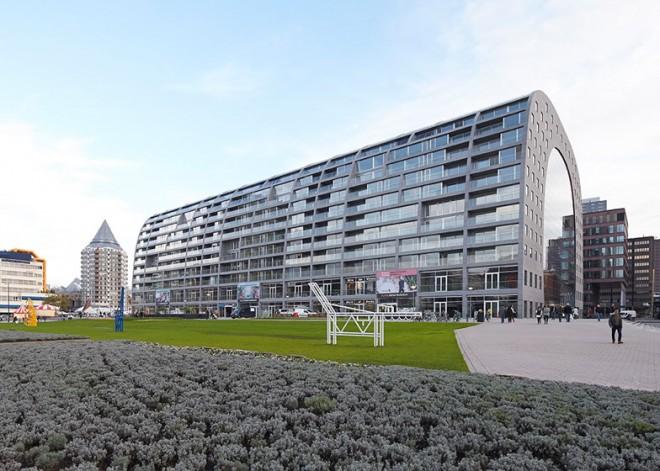 MVRDV-Markthal-Rotterdam esterno 2