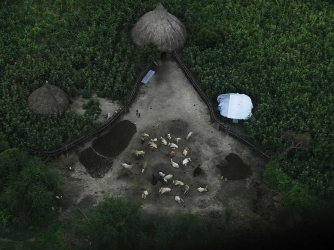 sudan villaggio case foto