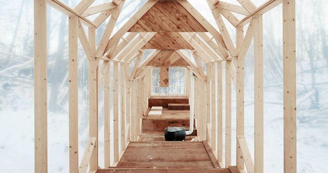 casa rifugio giappone architettura